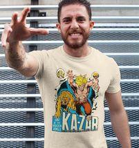 Ka-Zar Lord of the Hidden Jungle T shirt retro 1970's Marvel Comics graphic tee image 3