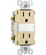 Pass & Seymour 15A Ivory Tamper Resistant Duplex Outlet NightLight NTL88... - $22.76