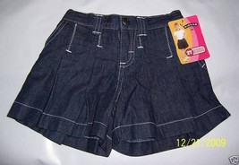 Riders Baby Clothes 2T Toddler Blue Denim Jeans Shorts Girl Christine Lee Bottom - $8.54