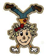 Straw Gathering Fun Scarecrow-Digital Download-ClipArt-ArtClip-Digital Art - $4.00