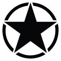 "Toyota FJ Cruiser 13"" Oscar Mike Freedom Star Decal - $18.00"