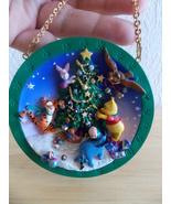 "Disney Winnie the Pooh ""An Enchanted Christmas"" Ornament Plate  - $25.00"