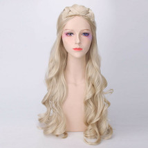 Daenerys Targaryen GOT Game of Thrones Khaleesi Costume Wig Light Blonde... - $24.99