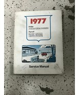 1977 dodge ramcharger truck 100 400 trail duster service shop repair manual - $79.19
