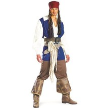 Disguise Captain Jack Sparrow Classic Pirate Adult Teen Halloween Costum... - $46.50