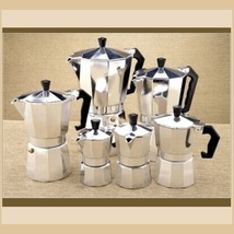 Italian Moka Espresso 1 Cup to 12 Cup Sizes Stove Top Coffee Percolator Brew Pot image 4