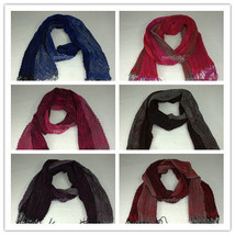 Winkle Ruffle Flower Print Scarf Soft Fashion Warm Wrap Pashmina Multi Color - $8.45