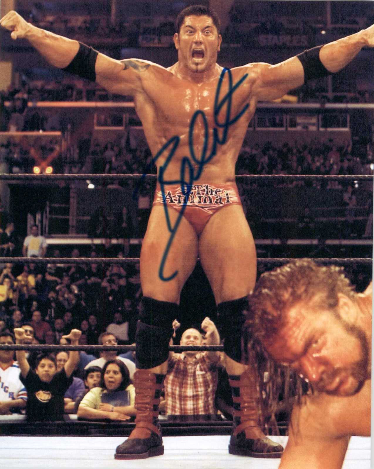 Primary image for Dave Batista Signed Autographed Glossy 8x10 Photo