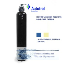 Whole House Fluoride/Arsenic Carbon Whole House Filter 1 cu ft.   Manual Valve - $441.75