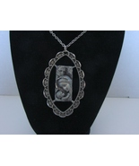 Holy Family Pewter Necklace from Italy. New. Ca 1980 - $9.99