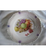 handpainted plate leuchtenburg germany - $30.00