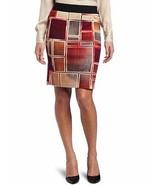 Karen Kane Dreamcatcher Pencil Skirt 3L71520 Block Print Medium - $18.00