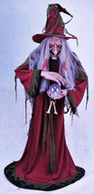 The Fortune Teller Gypsy Witch Life Size Halloween Prop - $244.53