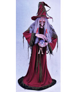 The Fortune Teller Gypsy Witch Life Size Hallow... - $244.53