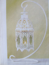 "6 Candle Lantern Distressed Candleholder Wedding Centerpieces 13"" Tall - $74.25"