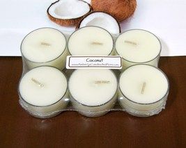 Coconut PURE SOY Tea Lights (Set of 6) - $5.00