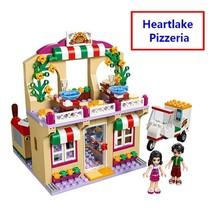 New Friends Heartlake Pizzeria Pizza Restaurant Building Blocks DIY Educ... - $29.40+