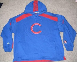 Chicago Cubs Hooded Sweatshirt Xl X Large Mlb New Nwt - $37.39