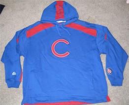 CHICAGO CUBS HOODED SWEATSHIRT XL X LARGE MLB NEW NWT - $37.39