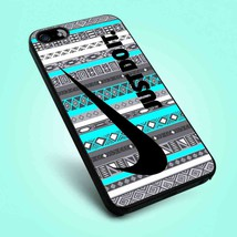 Just Do It Aztec Mint iPhone 5 5S 5C 6 6 Plus 7 Samsung Galaxy S5 S6 S7 ... - $12.99+