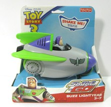 NEW Toy Story 3 Shake N Go Buzz Lightyear Rocket Car Talks Fisher Price ... - $34.60