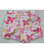 Girls Toddler Barbie Pink Flowered Shorts Size 4T - $5.00