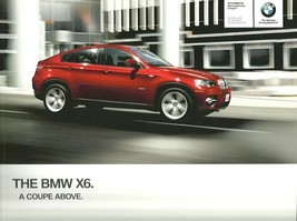 2010 BMW X6 sales brochure catalog US 10 xDrive 35i 50i ActiveHybrid - $9.00
