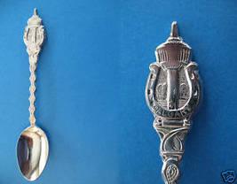 Calgary Alberta Souvenir Collector Spoon Tower Horseshoe Collectible Vintage - $6.95