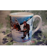 Tim Hortons Coffee Mug Tea Cup HOCKEY Skating Pond Number 3 Canada Souve... - $14.95