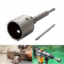 65mm SDS Plus Shank Hole Saw Cutter Concrete Cement Stone Wall Drill Bit... - $30.14