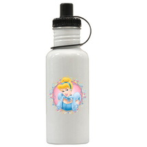 Cinderella Personalized Custom Water Bottle #2, Add Childs Name - $19.99