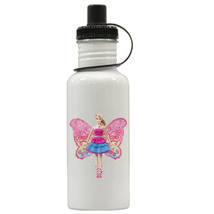 Barbie A Fairy Personalized Custom Water Bottle,  Add Childs Name - $19.99