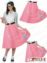 California Costumes 50'S Poodle Skirt Adult Size SM/MED (6-10) Nip :FM19--2 - $24.85
