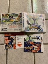 POKEMON X  3DS  (**NO GAME**) Replacement Case - $5.00