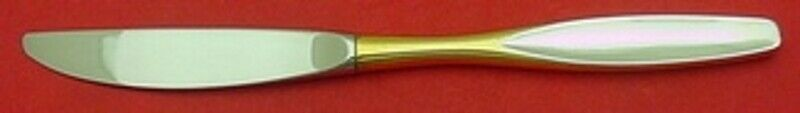 "Primary image for Golden Selene by Kirk Sterling Silver Regular Knife 9"" Vintage Flatware"
