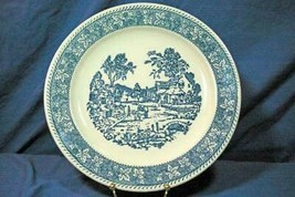 "Homer Laughlin Shakespeare Country Round Platter/Chop Plate 12"" - $11.08"