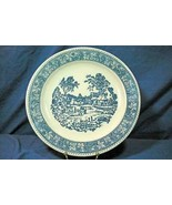 "Homer Laughlin Shakespeare Country Round Platter/Chop Plate 12"" - $10.07"