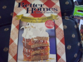 Better Homes & Gardens Prizewinning Recipes 2007 Cookbook - $5.00