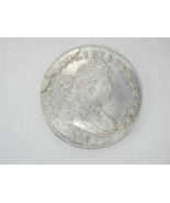 2317 One (1) US Novelty Silver Dollar Coin Mint 1797 20.8g - $12.00