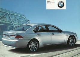 2002/2003 BMW Accessory Alloy Wheels brochure catalog 02 03 US - $8.00