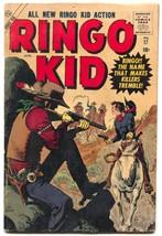 Ringo Kid #17 1957- Atlas Western- Maneely cover VG - $61.11