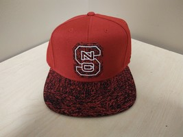 NEW ADIDAS N.C. State Wolfpack Snapback Adjustable Hat Red 149VZ - $9.50
