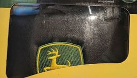 John Deere LP49603 Polyvinyl Black Sideless Seat Cover With Head Rest Cover image 4