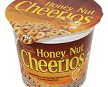 General Mills Cereal Honey Nut Cheerios - Cup 1.8 Oz Each ( 6 In A Pack )