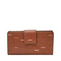 Fossil SL7914 - Logan RFID Tab Clutch - Brown Multi 914 - $39.60