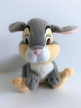 "Disney Mattel Arcotoys Bambi 6"" Thumper Stuffed Bunny Rabbit - $7.69"