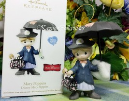 Hallmark Precious Moments Mary Poppins ornament 2012 Porcelain - $34.95