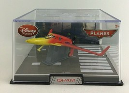 Disney Store Planes Figures Collectible Case Die Cast Ishani Airplane Aircraft - $35.59