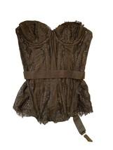 Agent Provocateur Aux Femmes Lace Corset Noire S - $499.83