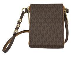Michael Kors Women's MK Logo PVC Leather Purse Belt Fanny Pack Bag 552500 image 6